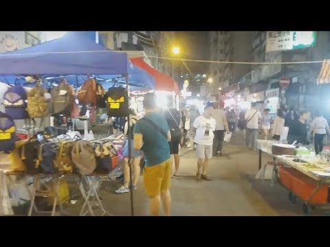Hong Kong Life Live - Night Market