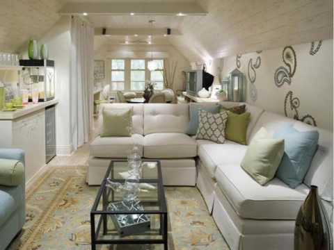 Living Room Ideas With Sectionals small living room with sectional decorating ideas - youtube