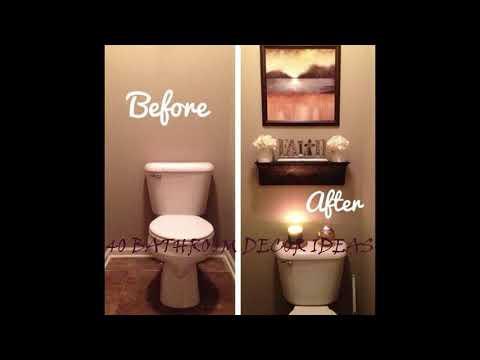 40 SMALL BATHROOM IDEAS DECOR -Wash Room Design   Renovation Ideas
