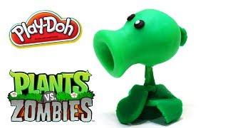 Play-Doh Plants vs Zombies Garden Warfare Peashooter from Plants vs Zombies 2 Game PopCap Games