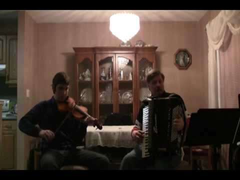 LIBERTY TWO STEP DUET     Fiddle and Accordion.wmv