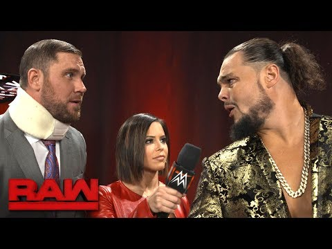 Bo Dallas challenges Finn Bálor to a match on Raw: Exclusive, Dec. 4, 2017
