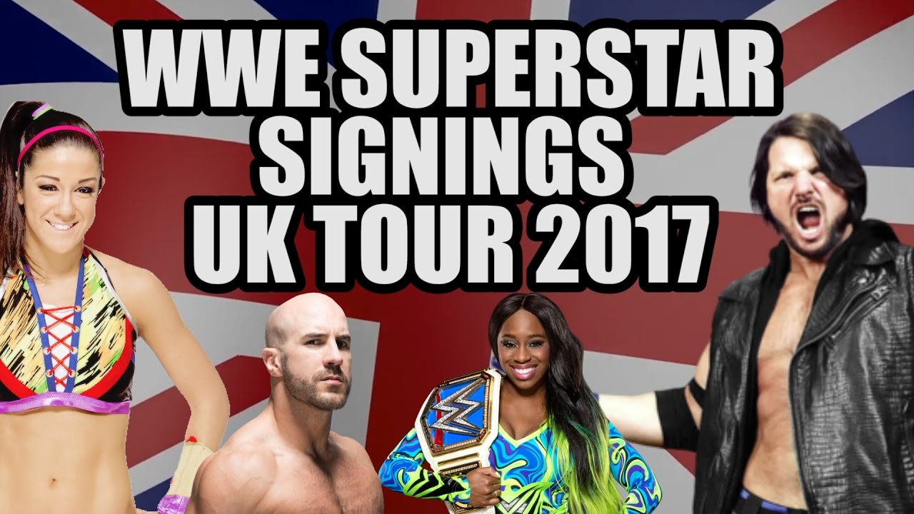 Wwe superstars uk appearances 2017 youtube wwe superstars uk appearances 2017 m4hsunfo