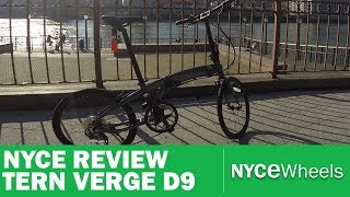 tern verge p9 high performance low cost folding bike review