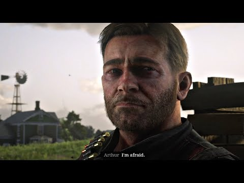 Red Dead Redemption 2 - Arthur Tells Sister He's Dying & Is Afraid (Very Sad Cutscene)