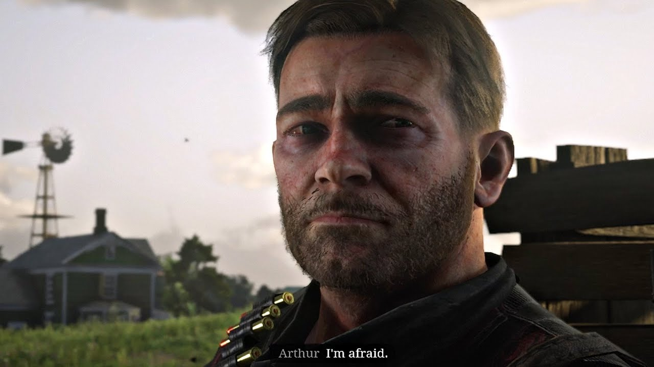 Red Dead Redemption 2 Arthur Tells Sister He S Dying Is Afraid