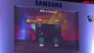 Samsung Concert Series TV (2018) First Look   Digit.in