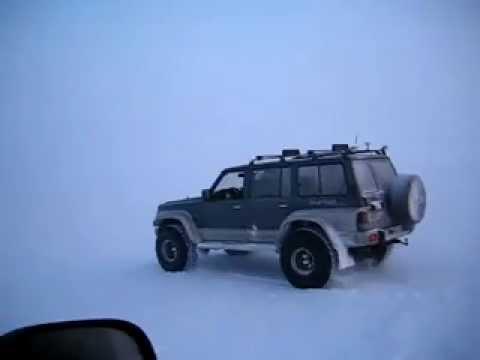 "Glacier driving  - Nissan Patrol GR on 38"""