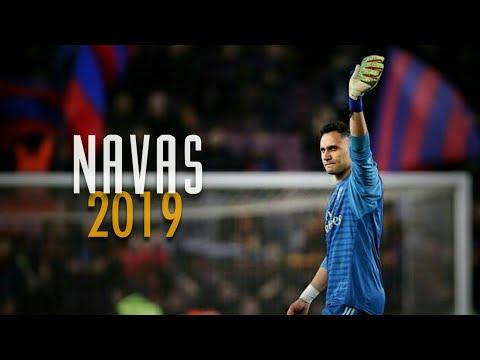 Keylor Navas • Flying Save • 2019 | HD