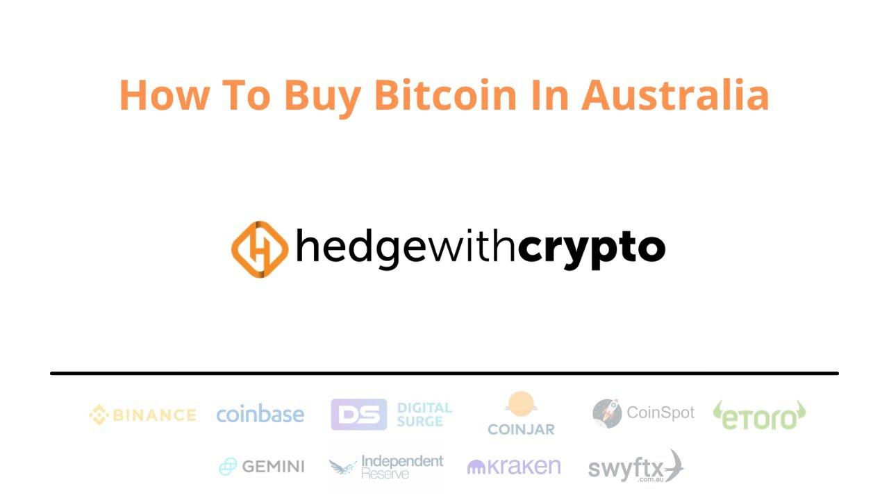 come scambiare bitcoin in australia