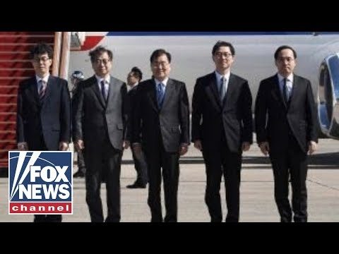 Delegation of South Korean officials heads to Pyongyang