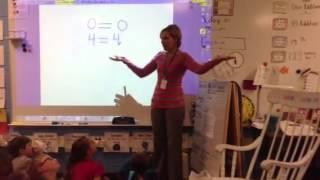 Math equal sign balancing