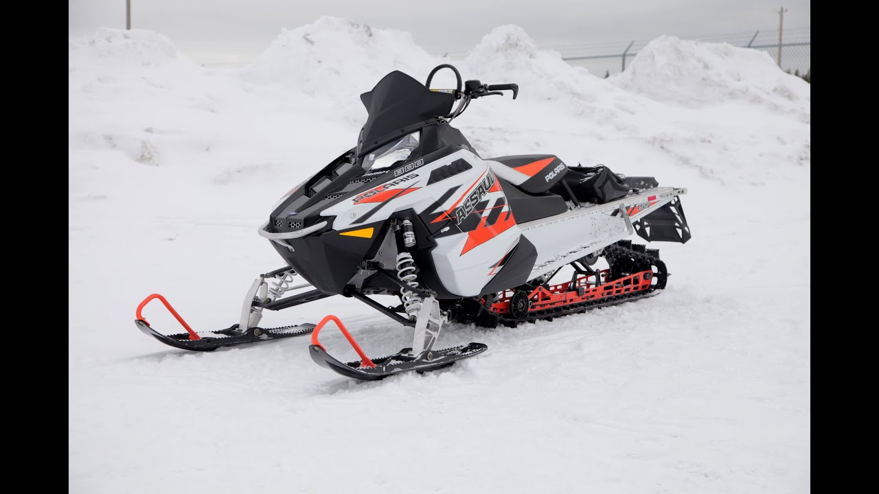 2017 Polaris Rmk Ault 155 Review