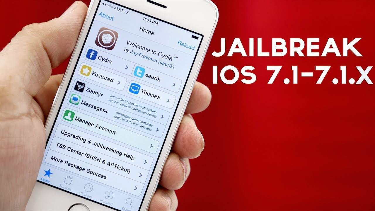 How To Jailbreak iOS 7.1 - 7.1.x Untethered With Pangu