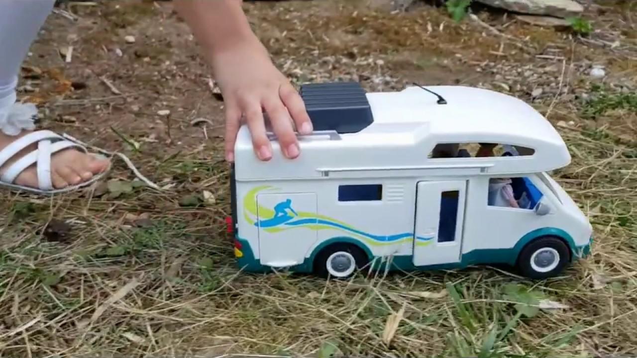 Playmobil vacances en camping car youtube - Camping car playmobil pas cher ...