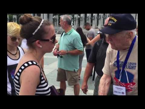 Greater St. Louis Honor Flight to Washington DC - June 7, 2016