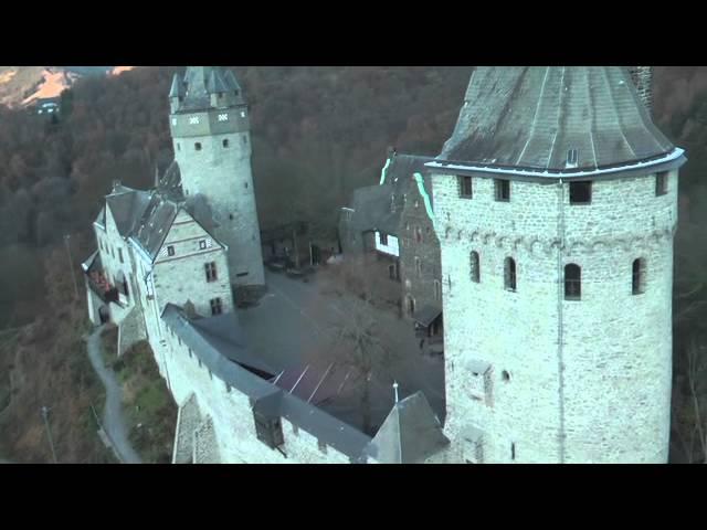 Burg Altena Drohnenflug