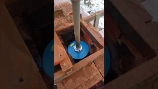 Diamentowe frezowanie komina
