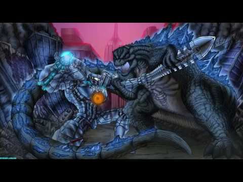 Godzilla Vs Gypsy Danger Speedpaint