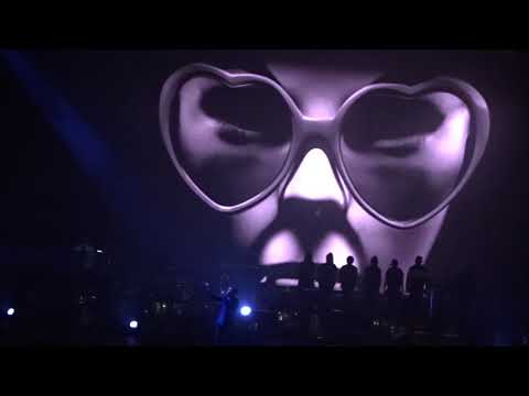 Gorillaz - Busted And Blue - live - The Forum - Los Angeles CA - October 5, 2017