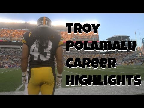 Troy Polamalu | Career Highlights Mixtape (HD)