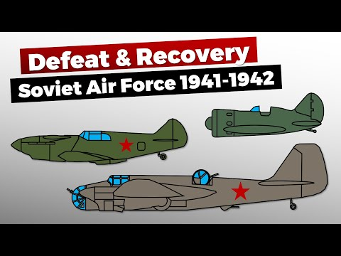 Soviet Air Force 1941/1942 – Defeat & Recovery
