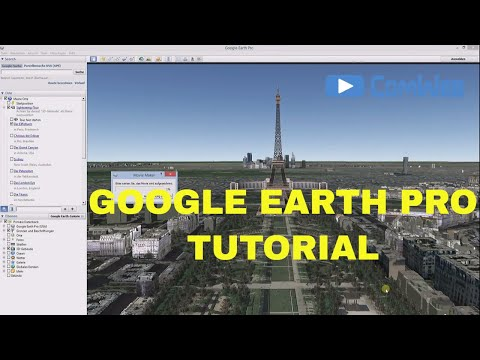 how to create a movie in google earth pro