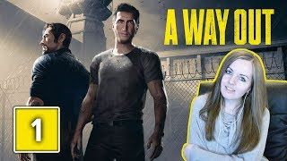 WELCOME TO PRISON! | A Way Out Gameplay Walkthrough Part 1 - With Steejo