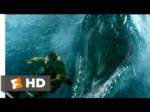 Jurassic World: Fallen Kingdom (2018) - Mosasaurus Attack Scene (1/10) | Movieclips