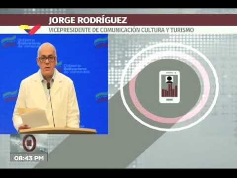 Reporte Coronavirus Venezuela, 24/07/2020: 650 casos (récord) y 5 muertos informó Jorge Rodríguez