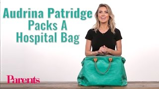 Audrina Patridge Packs A Hospital Bag   Parents