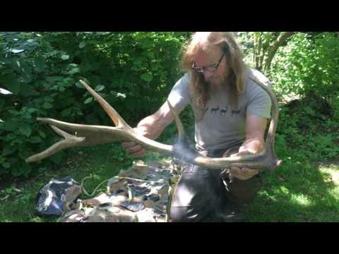 Prehistoric Experiences : 1000 Tools Pt 5 Making Tools For Flint Knapping.