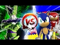 Dragon Ball Z Abridged: Cell Vs Sonic & Knuckles #cellgames | Teamfourstar video
