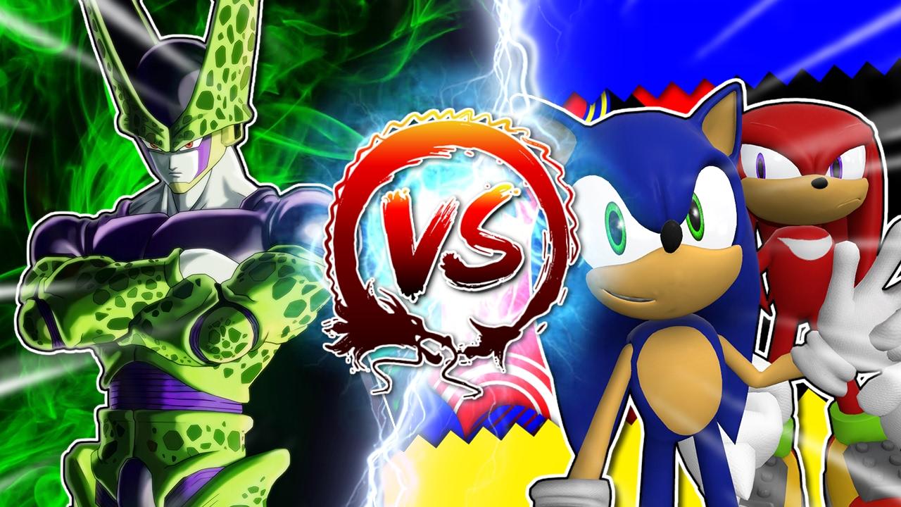 dragon-ball-z-abridged-cell-vs-sonic-knuckles-cellgames-teamfourstar