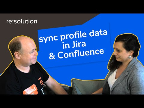 How to synchronize profile data to the user profile in Jira & Confluence?