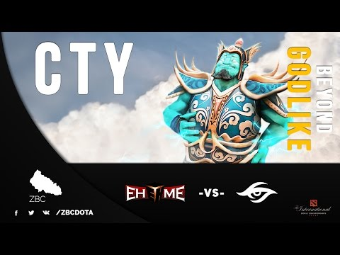 EHOME.Cty Storm Spirit Gameplay | EHOME vs Team Secret | TI5 Dota 2