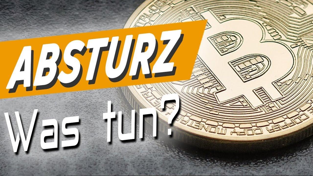 Bitcoin Absturz