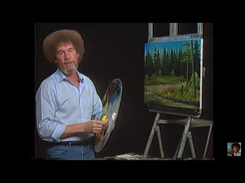 Resim Sevinci -The Joy of Painting with Bob Ross #10
