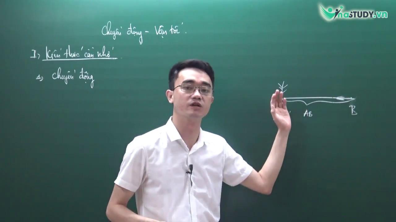 [Vật lý 8] – Chuyển động – vận tốc –  thầy Nguyễn Thành Long