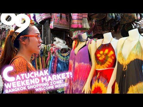 Chatuchak Weekend Market 2018 ( featuring inside shops) Shopping in Bangkok