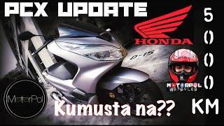 HONDA PCX 150i update| Kumusta na? After 5 months/5,000km | Minor Issues | Motovlog #12