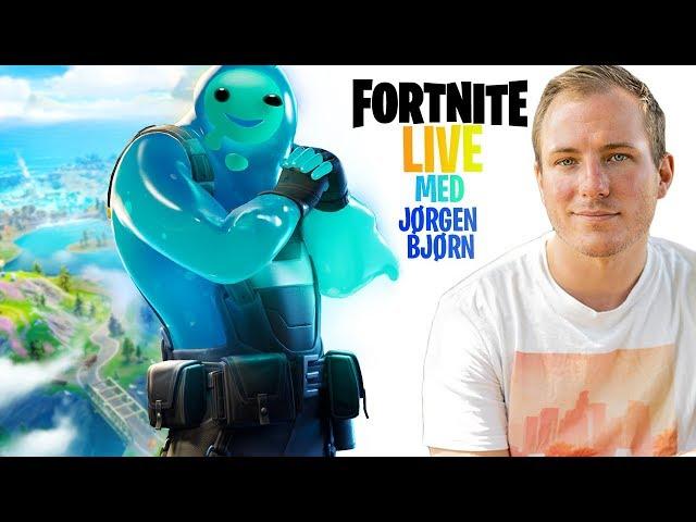 Fortnite live med Jørgen Bjørn!