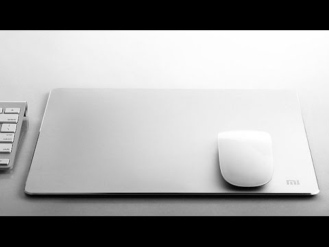 Xiaomi's Mi Metal Mousepad Unboxing, Beautiful Design, First impressions, Best Mousepad 2015?
