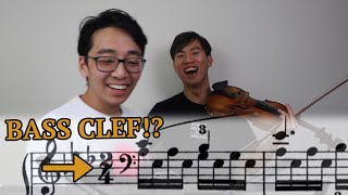 SIGHTREADING PIANO MUSIC... ON THE VIOLIN (IMPOSSIBLE CHALLENGE)