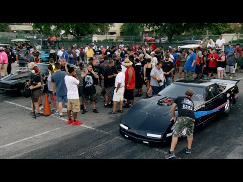 Jeff James and his Corvette Off Barry's Godfather | Street Outlaws: New Orleans