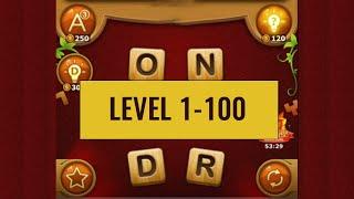 वर्ड कनेक्ट गेम्स (स्तर 1-100) screenshot 1