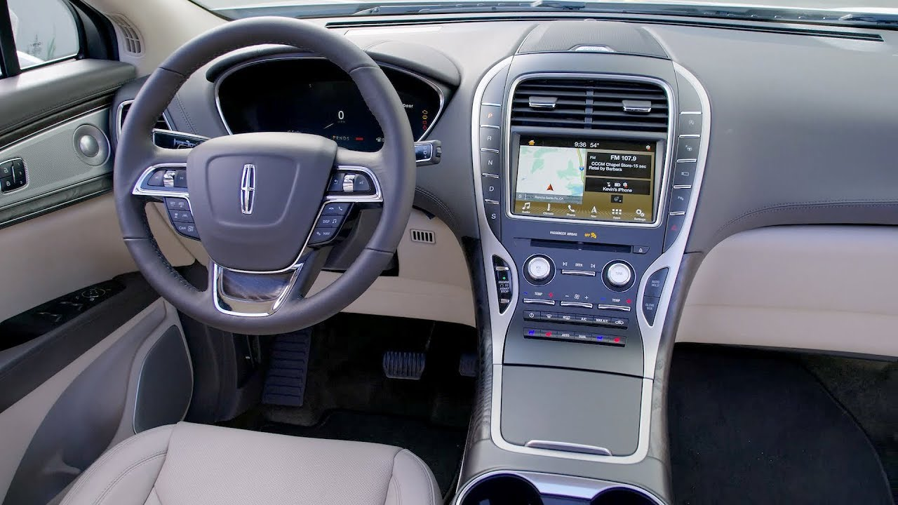 2017 Lincoln Continental Interior >> 2019 Lincoln Nautilus - Interior - YouTube
