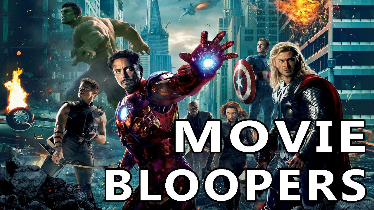 Official Movie Bloopers   The Avengers   Gag Reel
