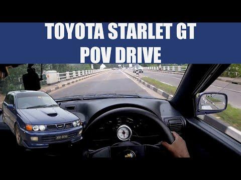 Toyota Starlet GT POV Drive