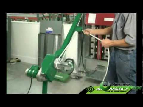 Milwaukee Wire Tugger | Greenlee Gl Ut2 Ultra Tugger 2 Cable Puller Use And Operation Of